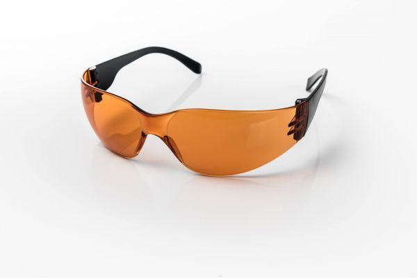 eye shield classic red – Leichte Schutzbrille