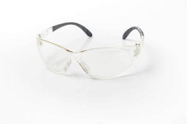eye shield soft klar UV400 – Klare Schutzbrille