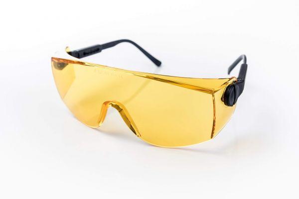 over shield VB yellow sx – Breitsicht-Gelbfilterbrille
